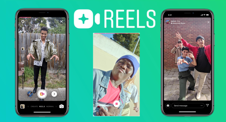 "Facebook ""Borrows"" the Concept of Music Videos from TikTok and Integrates It into Instagram with ""Reels"""