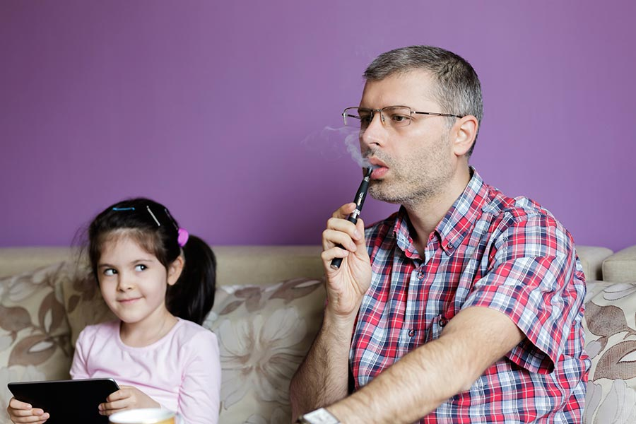 Why Vaping Around Kids Is Unhealthy and Risky